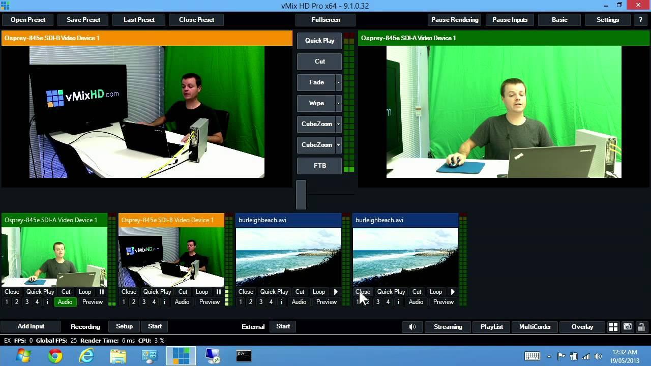 Screenshot vMix